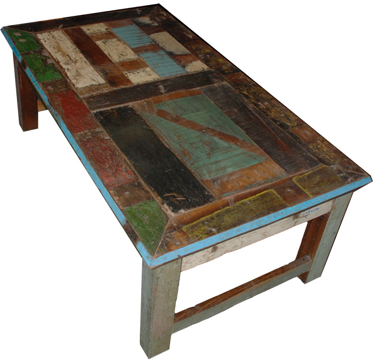 Distressed painted coffee table rustic furniture mall by